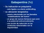 gabapentina 1c