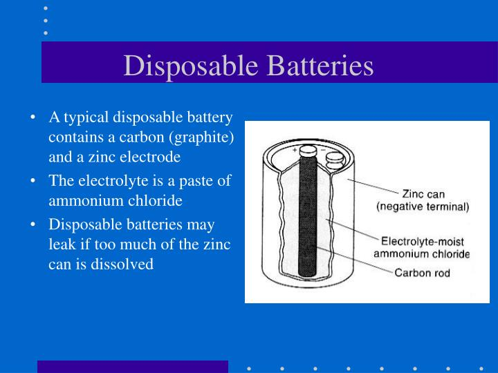 Disposable Batteries