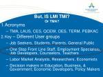 but is lmi tmi or tma
