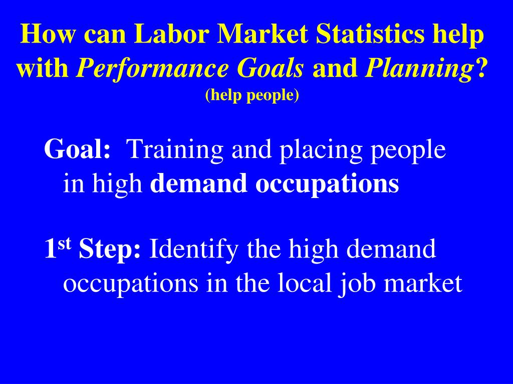 How can Labor Market Statistics help with