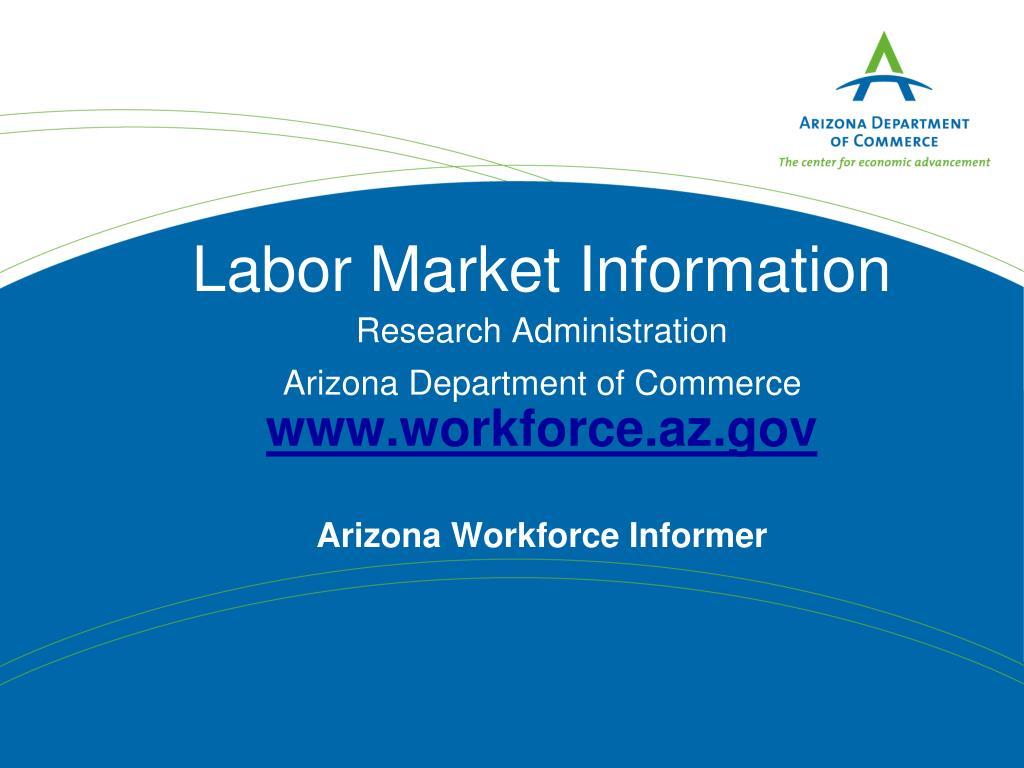 Labor Market Information