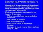 evoluci n del trastorno disocial 1