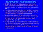 temperamento y trastorno disocial i