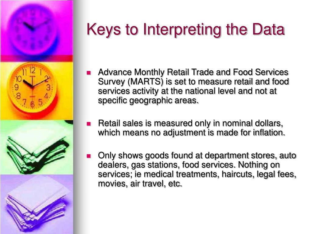 Keys to Interpreting the Data