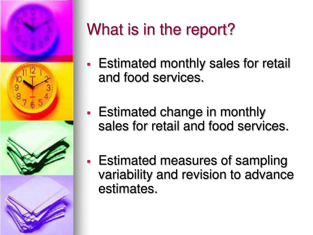What is in the report?
