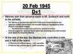 20 feb 1945 d 1