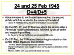 24 and 25 feb 1945 d 4 d 5