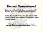 heroes remembered