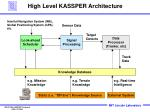 high level kassper architecture