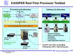 kassper real time processor testbed