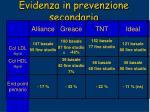 evidenza in prevenzione secondaria37