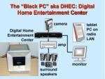the black pc aka dhec digital home entertainment center