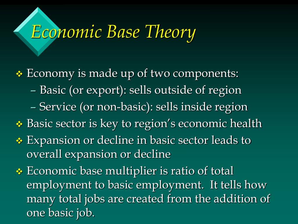Economic Base Theory