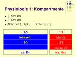 physiologie 1 kompartmente7