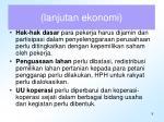 lanjutan ekonomi