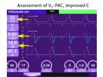 assessment of v t pac improved c