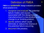 definition of fmea