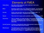 elements of fmea