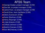 afss team