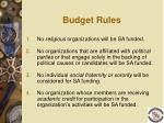 budget rules11