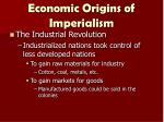 economic origins of imperialism