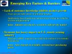 emerging key factors barriers22