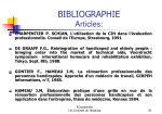 bibliographie articles81