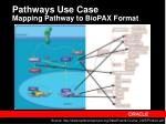 pathways use case mapping pathway to biopax format
