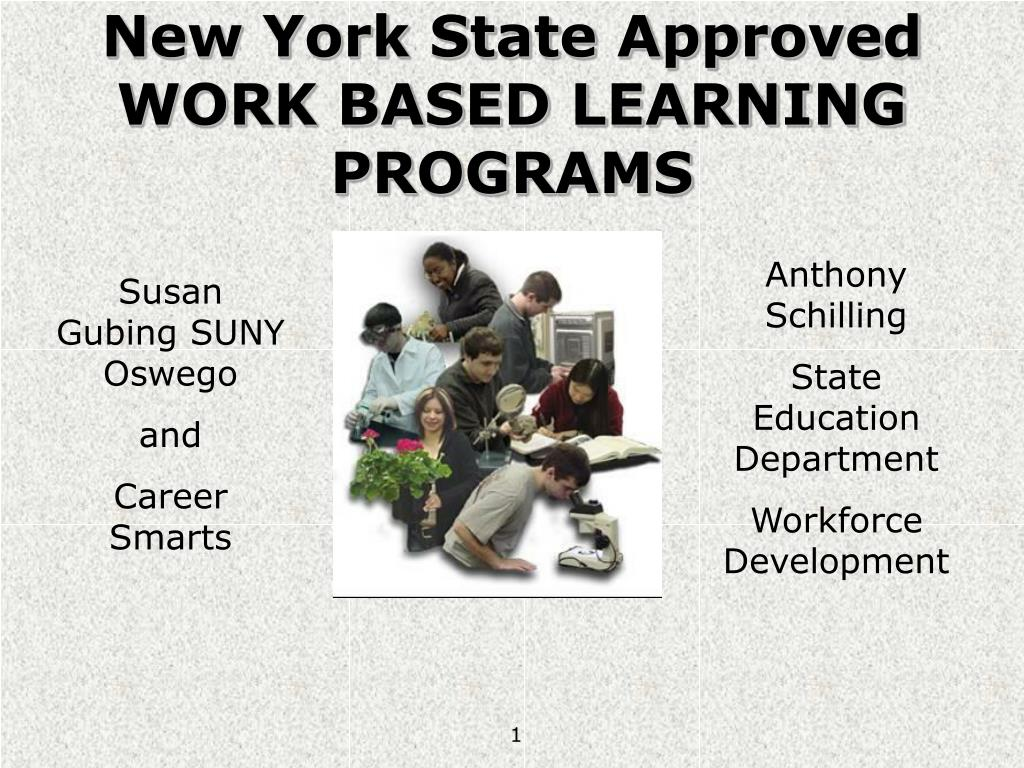 new york state approved work based learning programs l.