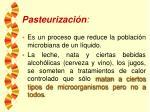 pasteurizaci n