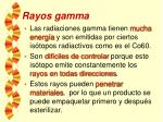 rayos gamma