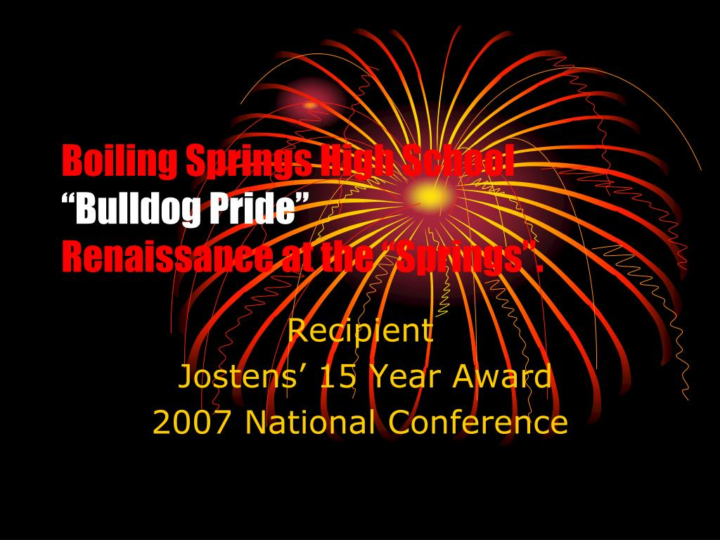 boiling springs high school bulldog pride renaissance at the springs l.