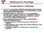 formale kriterien i distribution
