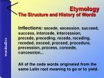 etymology33