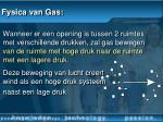 fysica van gas