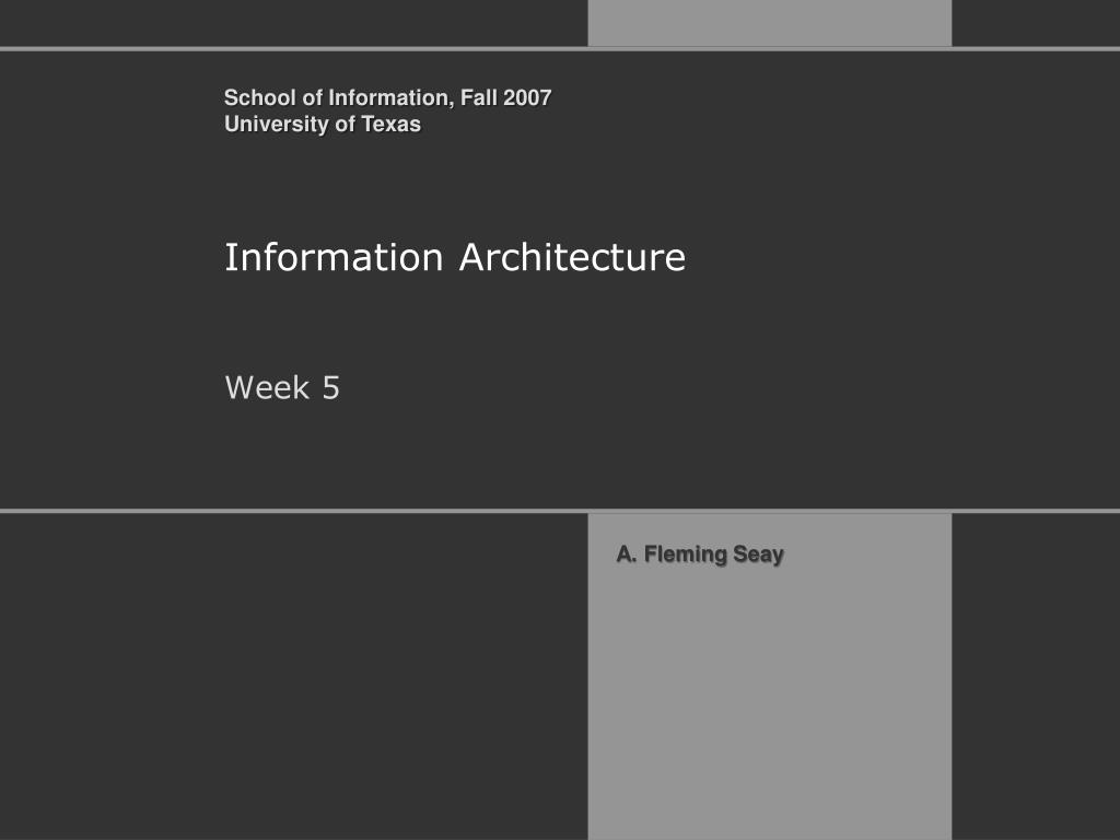 information architecture l.