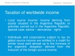 taxation of worldwide income