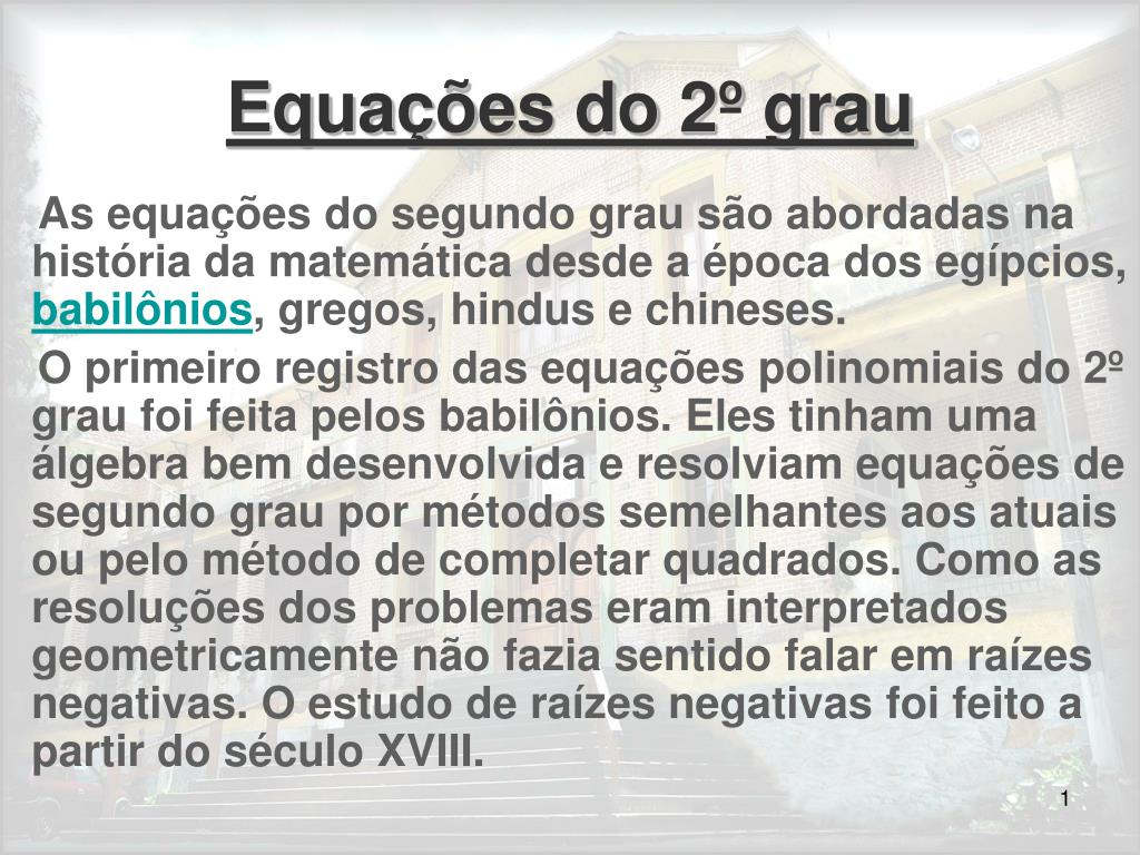 equa es do 2 grau l.