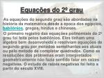 equa es do 2 grau
