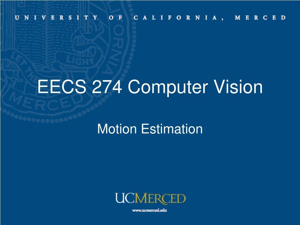 eecs 274 computer vision l.