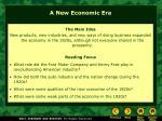a new economic era