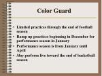 color guard234
