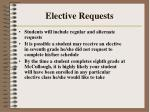 elective requests192