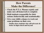 how parents make the difference55