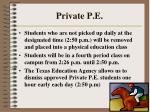 private p e179