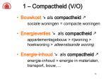1 compactheid v o