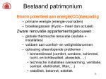 bestaand patrimonium