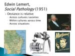 edwin lemert social pathology 1951