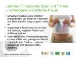 leitlinien f r gesundes essen und trinken schwangere und stillende frauen