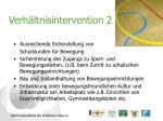 verh ltnisintervention 2